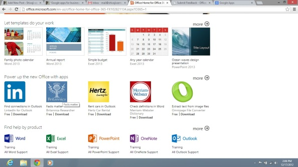 Perfect OBA Office Business Applications Resources